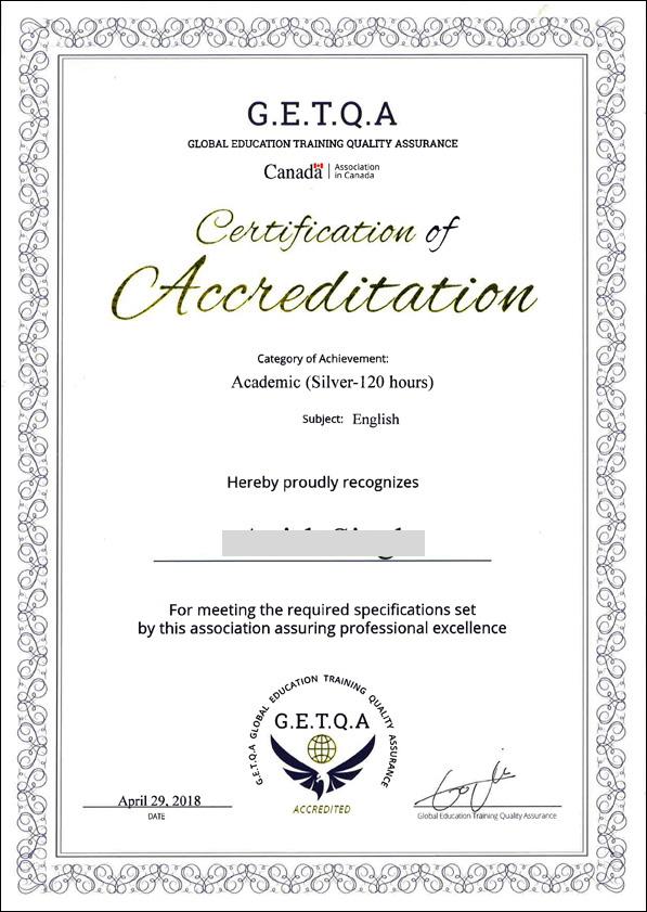 Global Education Training Quality Assurancegetqa